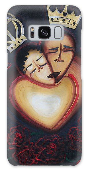 Lovers Embrace Galaxy Case