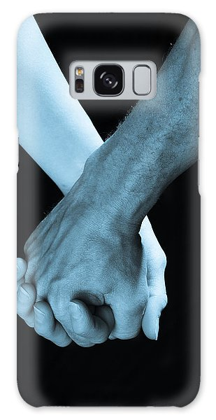 Lovers Hands Galaxy Case