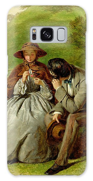 Board Walk Galaxy Case - Lovers by William Powell Frith