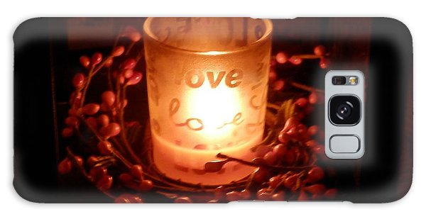 Love's Glow Galaxy Case