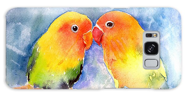 Lovey Dovey Lovebirds Galaxy Case