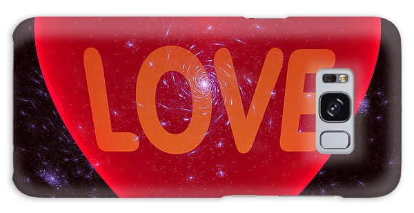 Loving Heart Galaxy Case