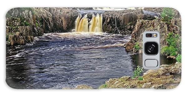 Low Force Waterfall, Teesdale, North Pennines Galaxy Case