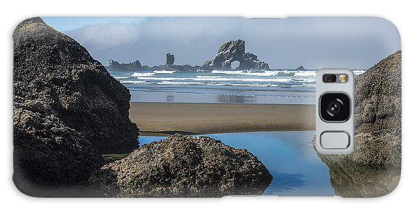 Low Tide At Ecola Galaxy Case