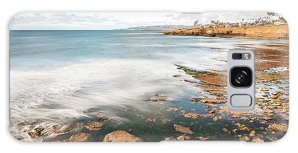 Low Tide At Sunset Cliffs Galaxy Case
