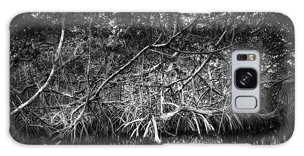 Mangrove Galaxy Case - Low Tide Bw by Marvin Spates