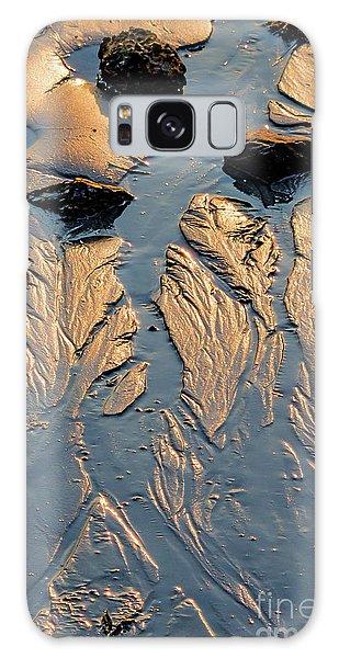 Low Tide Flow, Kettle Cove, Cape Elizabeth, Maine  -66557 Galaxy Case
