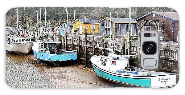 Low Tide In St. Martins Galaxy Case