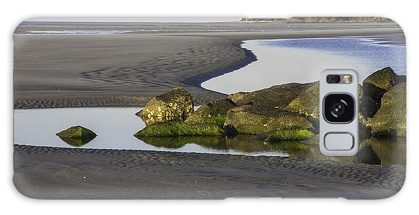 Low Tide On Tybee Island Galaxy Case by Elizabeth Eldridge