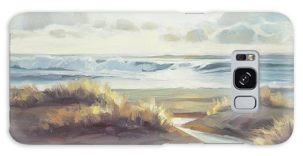 Seashore Galaxy Case - Low Tide by Steve Henderson