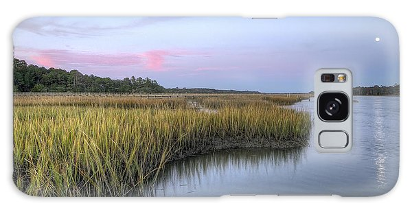 Lowcountry Marsh Grass On The Bohicket Galaxy Case