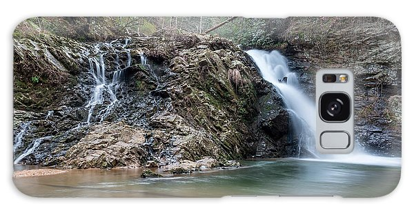 Lower Brasstown Falls Galaxy Case