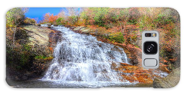 Lower Falls At Graveyard Fields Galaxy Case