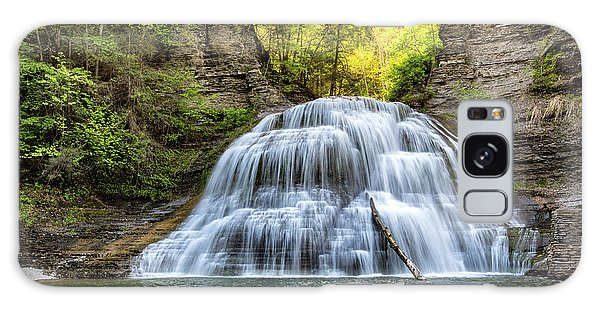 New Leaf Galaxy Case - Lower Falls At Treman State Park by Stephen Stookey