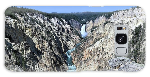 Lower Falls From Artist Point Galaxy Case