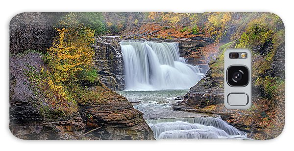 Lower Falls In Autumn Galaxy Case