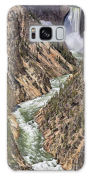 Galaxy Case featuring the photograph Lower Falls by John Gilbert