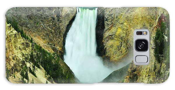 Lower Falls No Border Or Caption Galaxy Case