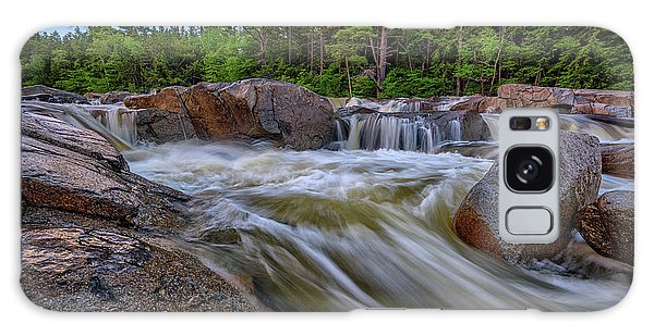White Mountain National Forest Galaxy Case - Lower Falls Of The Swift River by Rick Berk