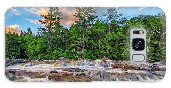 White Mountain National Forest Galaxy Case - Lower Falls On Kancamagus Highway by Rick Berk