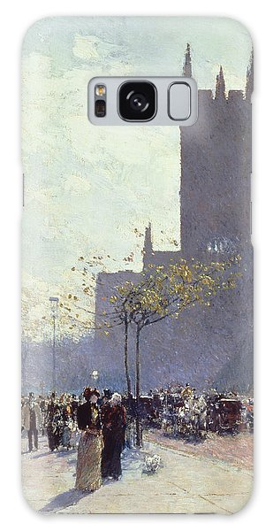 Place Of Worship Galaxy Case - Lower Fifth Avenue by Childe Hassam