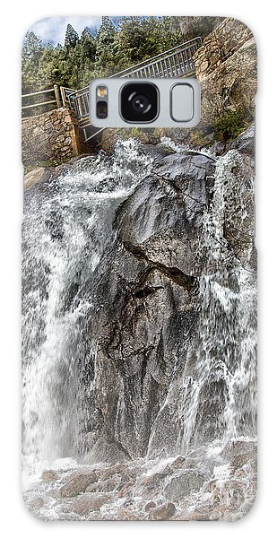Lower Helen Hunt Falls Galaxy Case