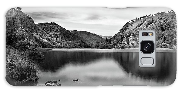 Galaxy Case featuring the photograph Lower Lake At Glendalough, County Wicklow - Ireland by Barry O Carroll
