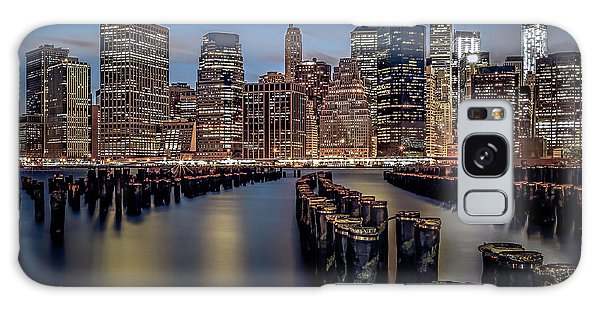 Lower Manhattan Skyline Galaxy Case