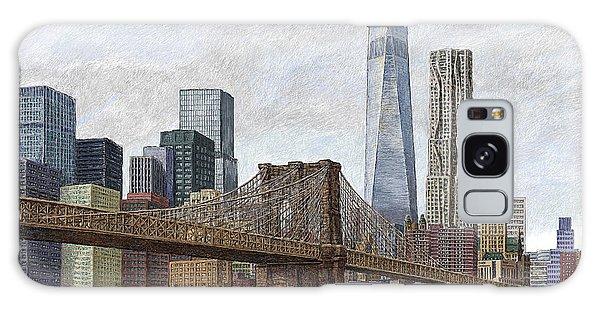 Lower Manhattan Skyline 2 Galaxy Case