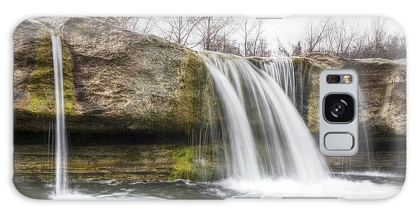 Lower Mckinney Falls Galaxy Case