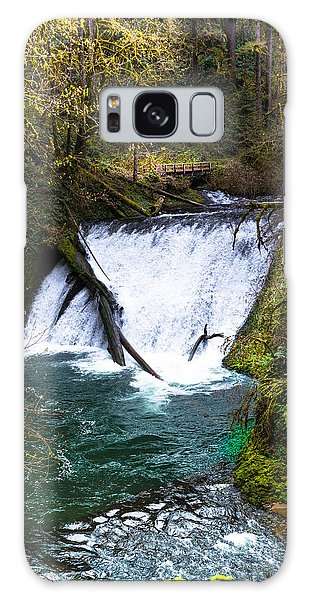 Lower North Falls Galaxy Case by Jerry Cahill