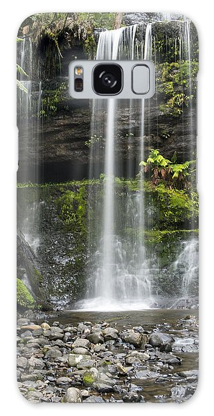 Lower Russell Falls Tasmania  Galaxy Case