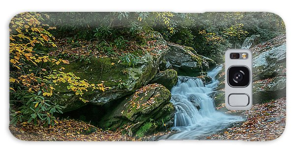 Lower Upper Creek Falls Galaxy Case