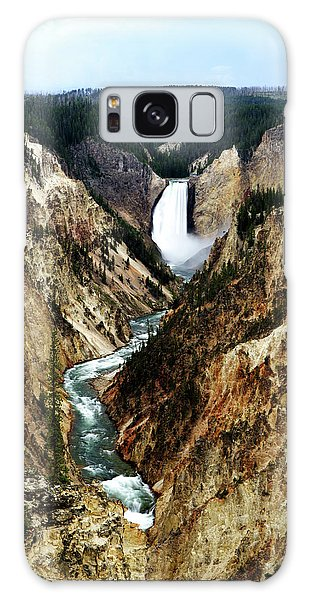 Lower Yellowstone Falls Galaxy Case