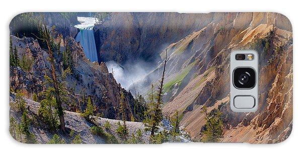 Lower Yellowstone Falls Galaxy Case