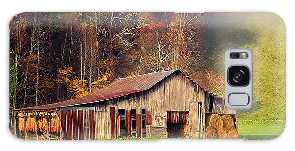 Lowes Barn Galaxy Case by Annlynn Ward