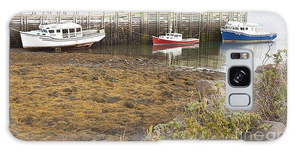 Lowtide Fishing Boats Galaxy Case