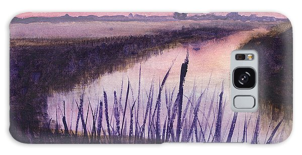 Loxahatchee Sunset Galaxy Case by Donna Walsh