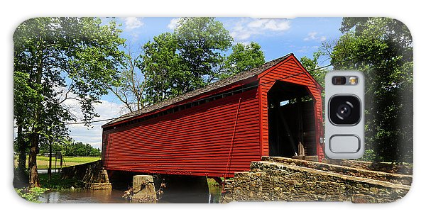 Loys Station Covered Bridge Frederick County Maryland Galaxy Case