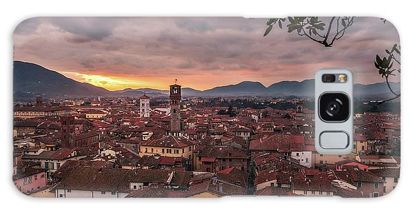 Lucca In Tuscany Galaxy Case