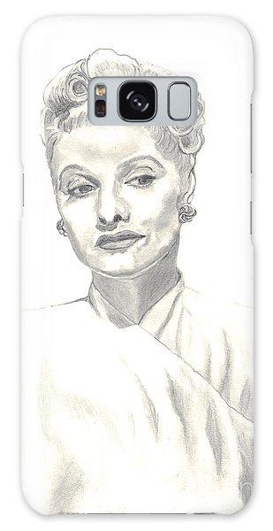 Lucille Galaxy Case by Carol Wisniewski