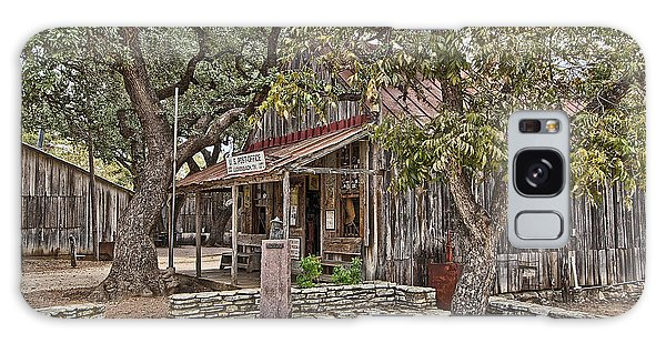 Luckenbach Post Office And General Store_3 Galaxy Case