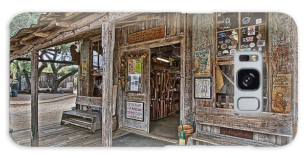 Luckenbach Post Office And General Store_4 Galaxy Case