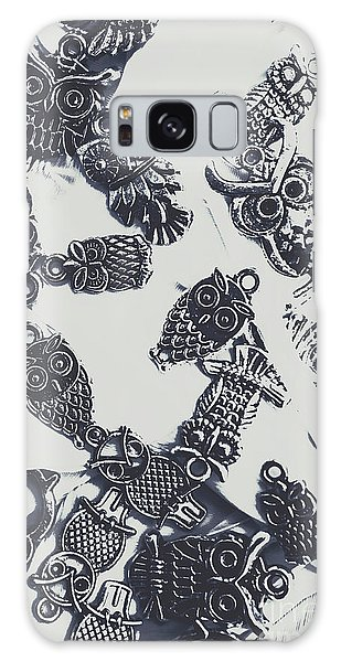 Pendant Galaxy Case - Lucky Charms Of Wise Old Owls by Jorgo Photography - Wall Art Gallery