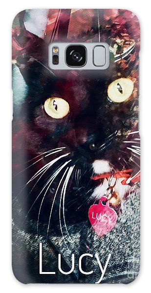 Lucy The Cat Galaxy Case