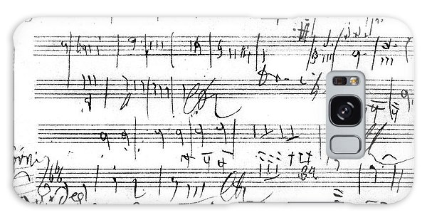 Controversial Galaxy Case - Ludwig Van Beethoven Sketch For Tenth Symphony by Ludwig van Beethoven