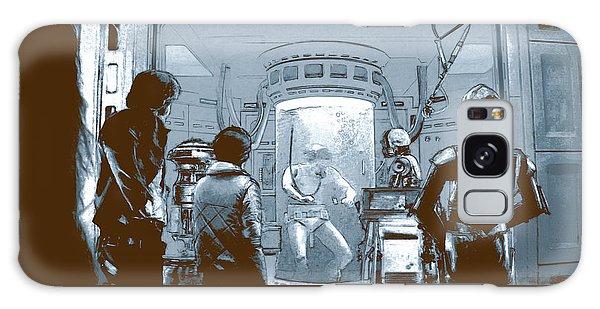 Luke In Bacta Galaxy Case by Kurt Ramschissel