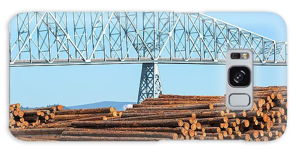 Galaxy Case - Lumber Mill In Rainier Oregon by David Gn