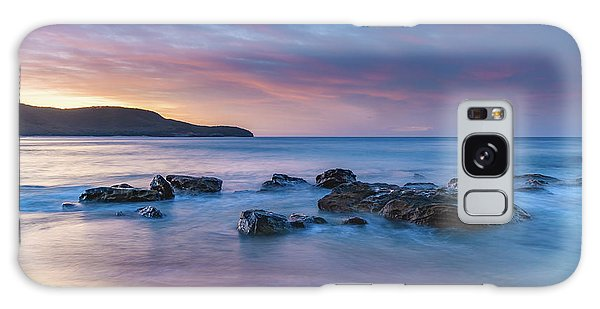 Luminescent Sunrise Seascape Galaxy Case