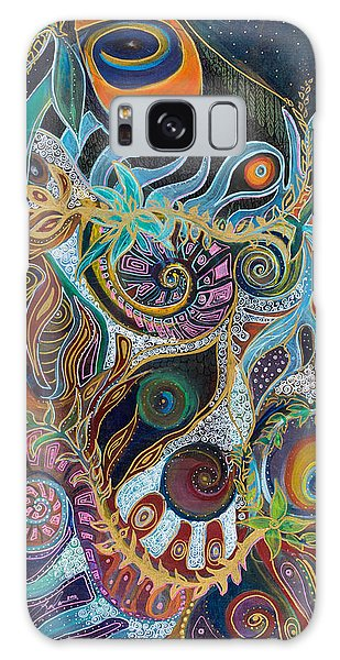 Luminous Galaxy Case by Leela Payne